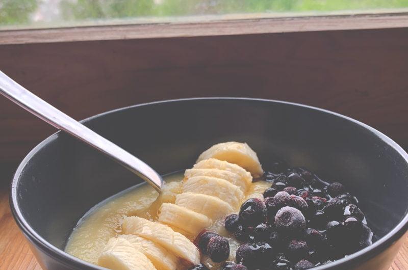 3 Ingredient Vegan Breakfast Bowl