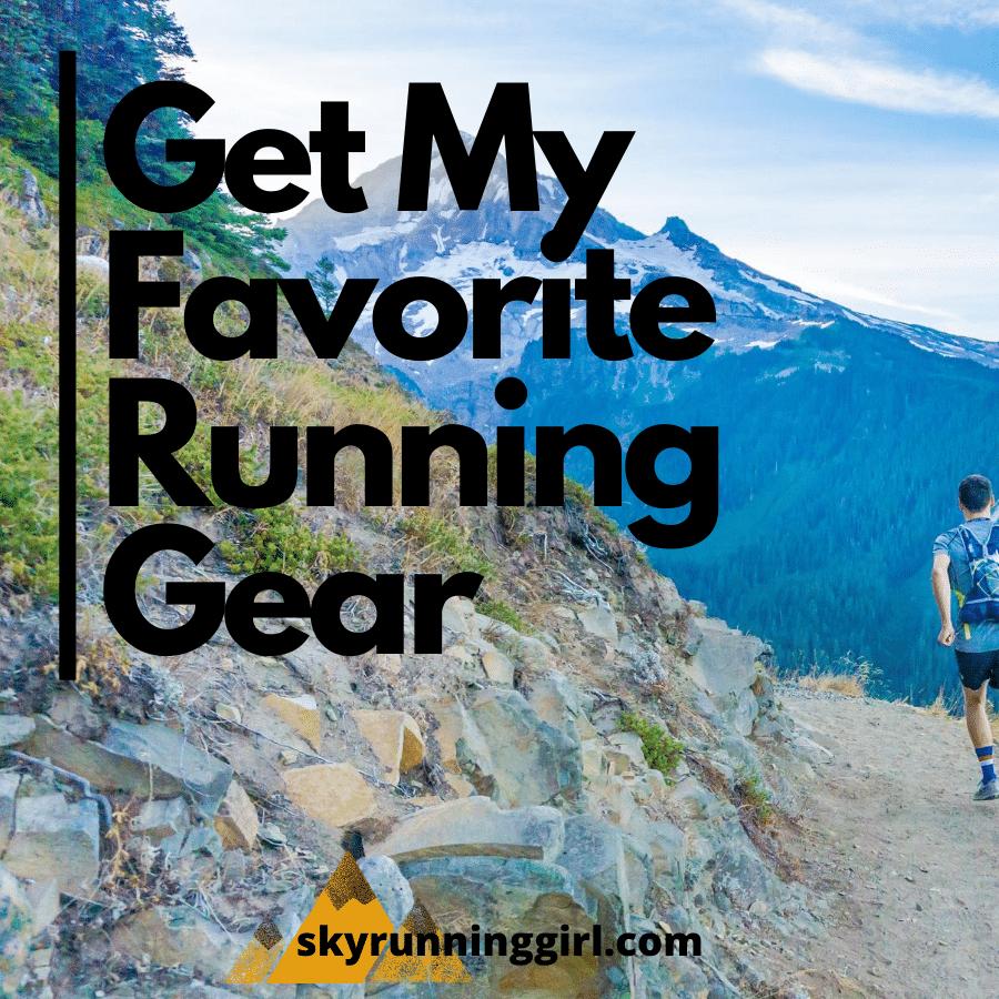 My Favorite running gear - skyrunning girl - trail running - mountain running - naia tower-pierce