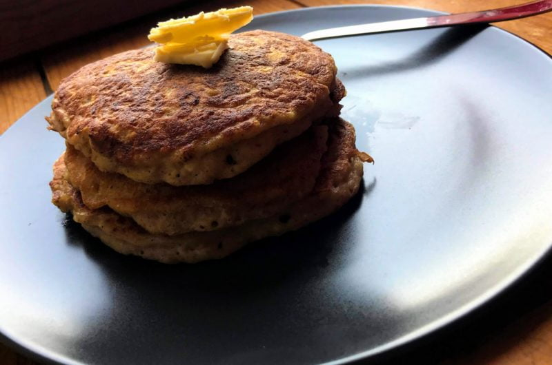 Simple Traditional Vegan Pancakes