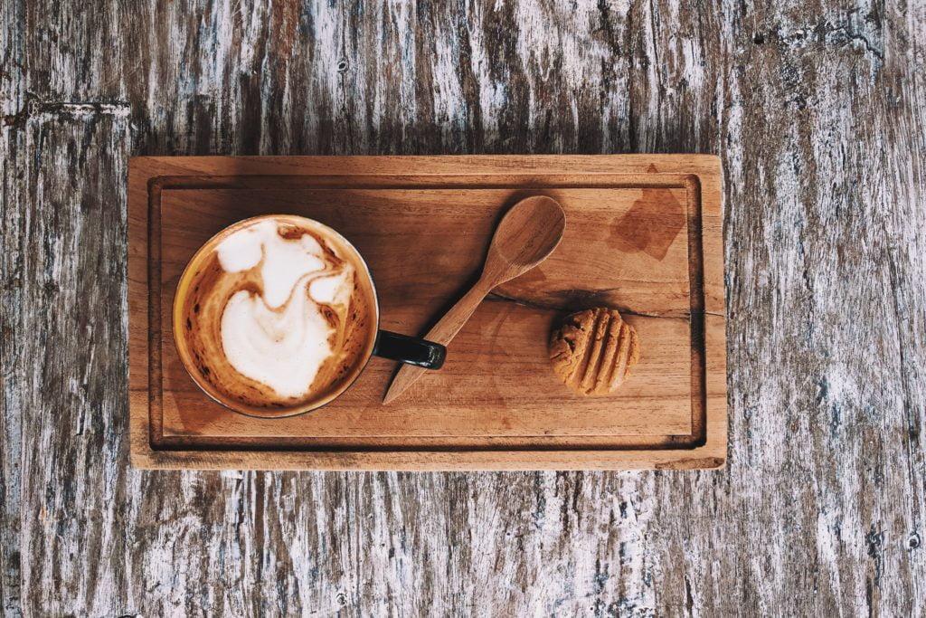 skyrunning girl soy milk almond chai photo beautiful