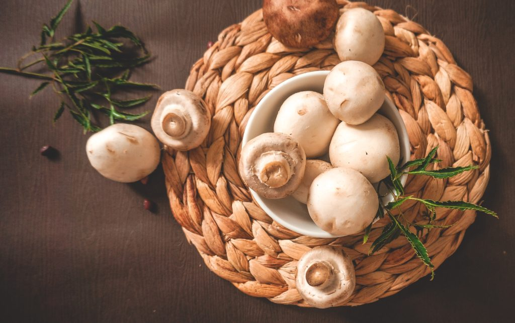 mushrooms vegan vitamin d increase