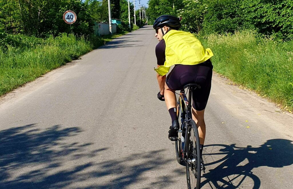 biker high visibility runner run unsplash photo running racing road running training run djswagzilla 8 Ways to Stay Safer While Running