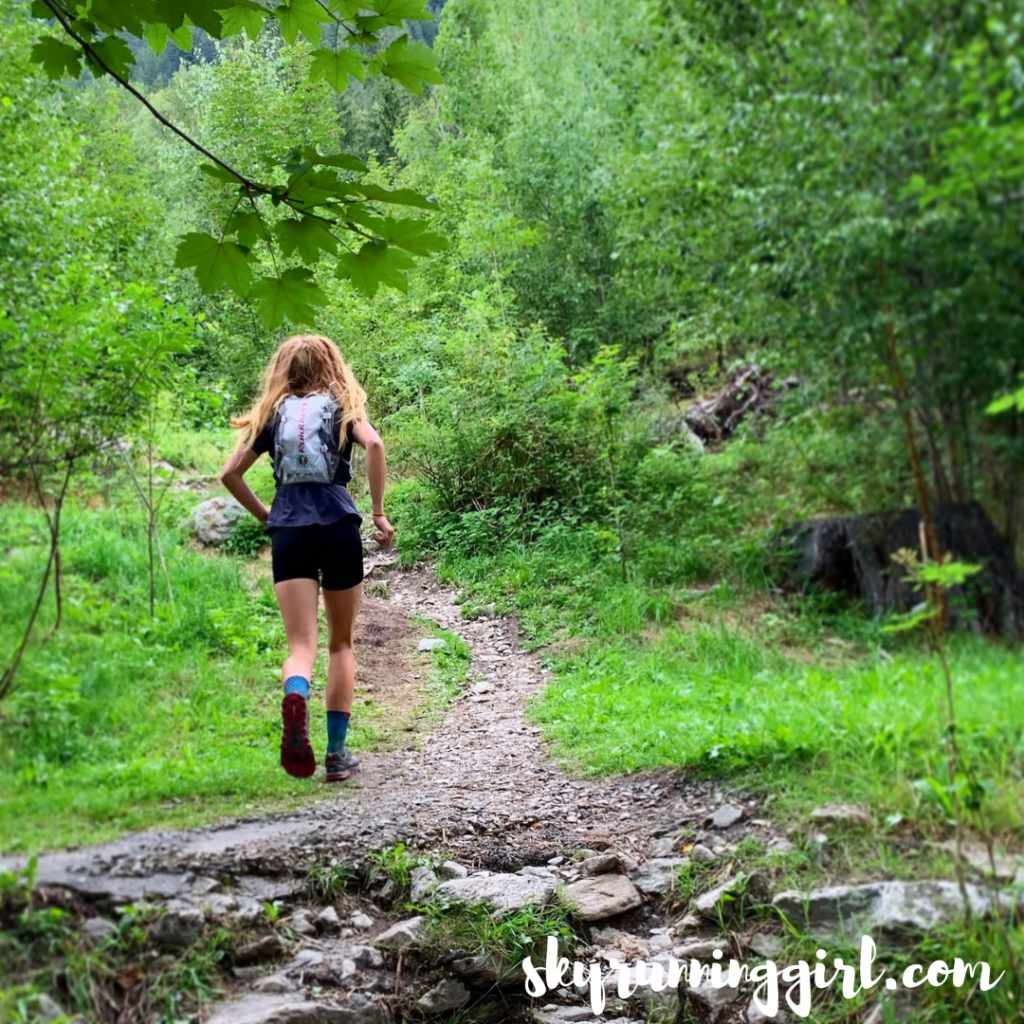 best places to eat in chamonix running skyrunning girl naia tower-pierce djswagzilla instagram running through the forest
